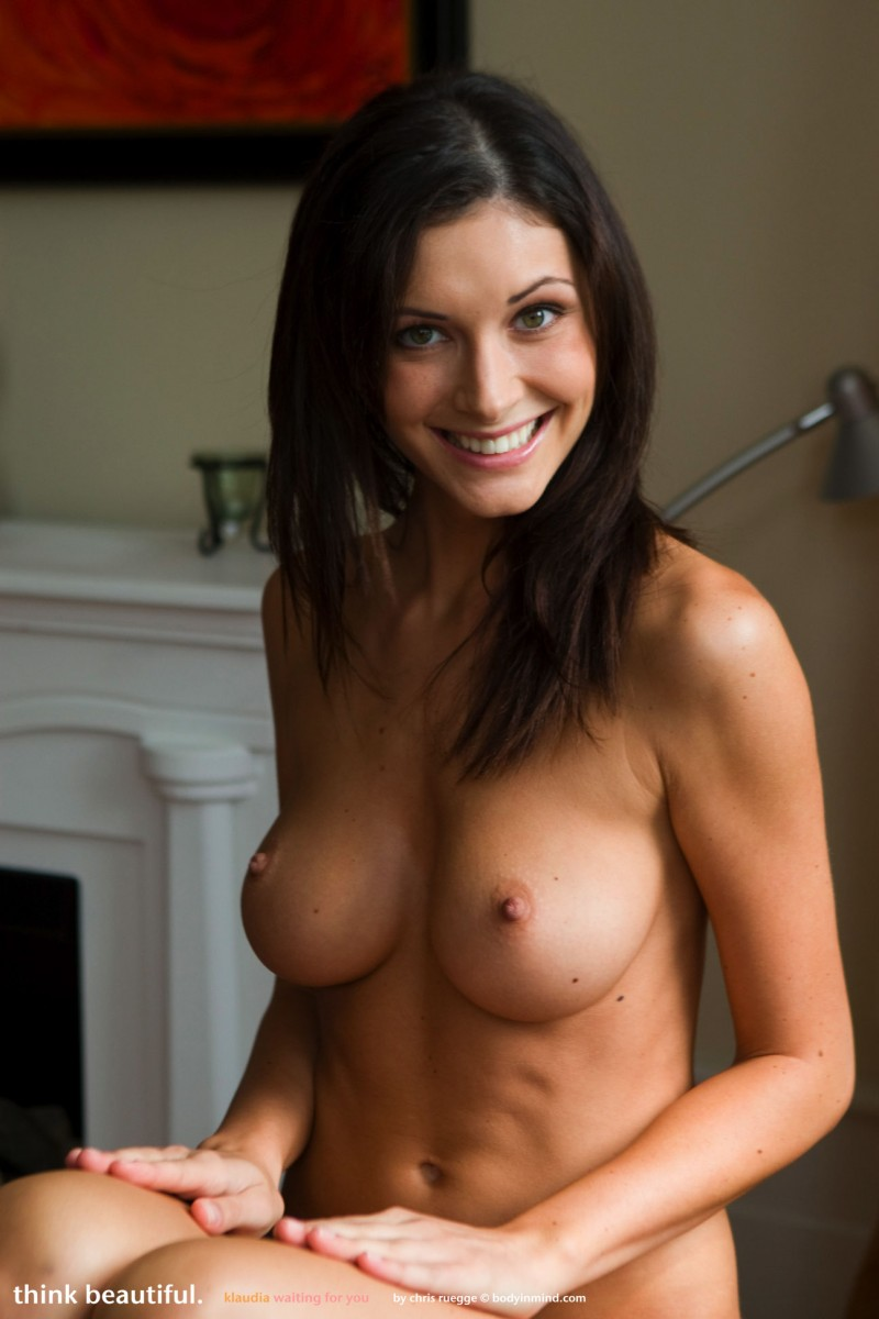 A pretty hungarian girl with tight fit body does a casting 7