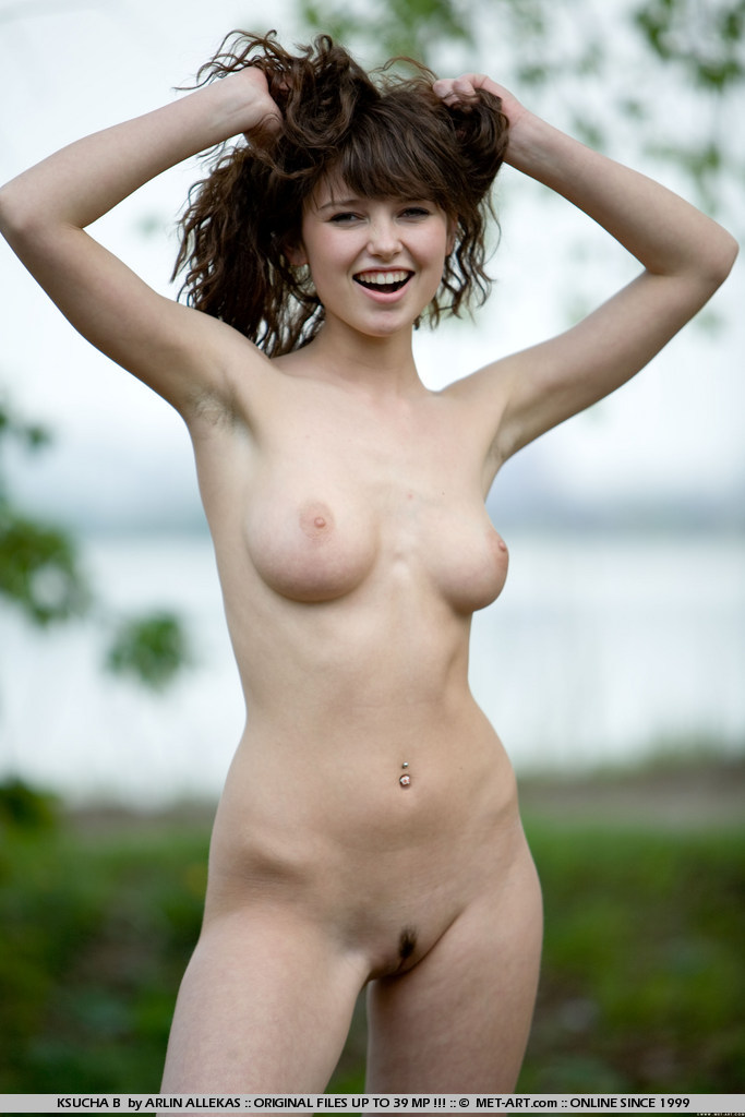 Naked By The Lake