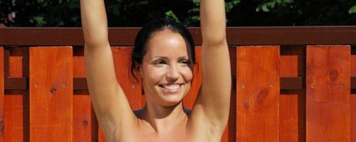 Laura Lion – Nude exercises