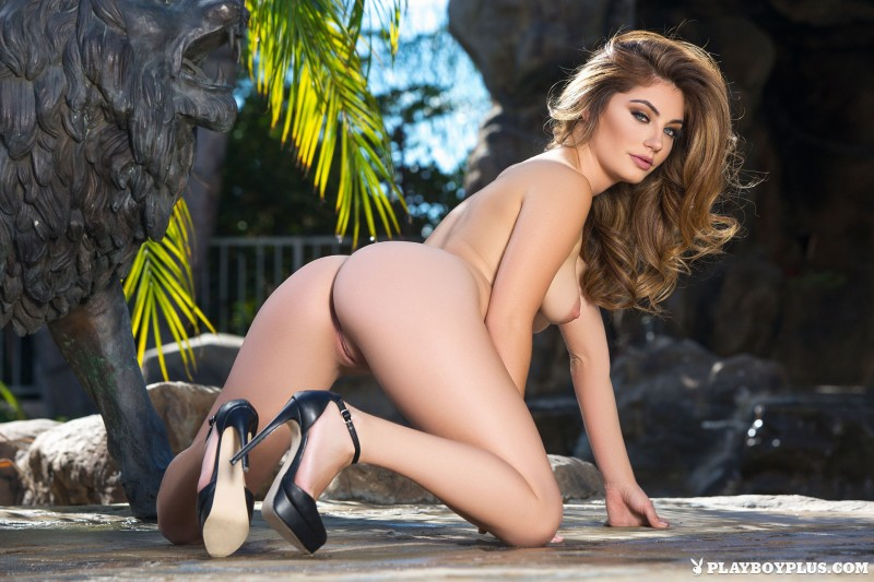 lauren-love-lingerie-high-heels-naked-playboy-18