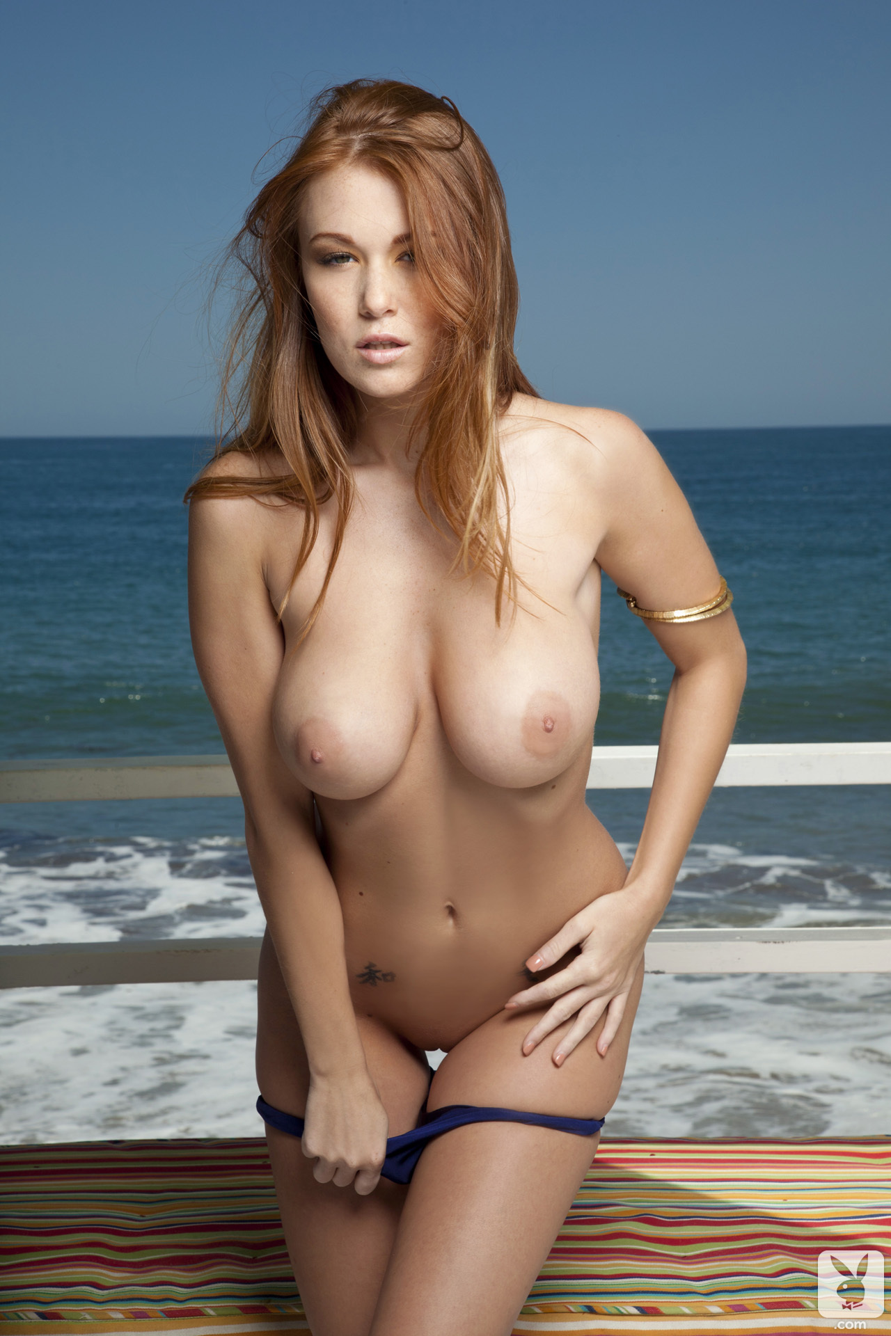 leanna-decker-bikini-boobs-redhead-seaside-playboy-15