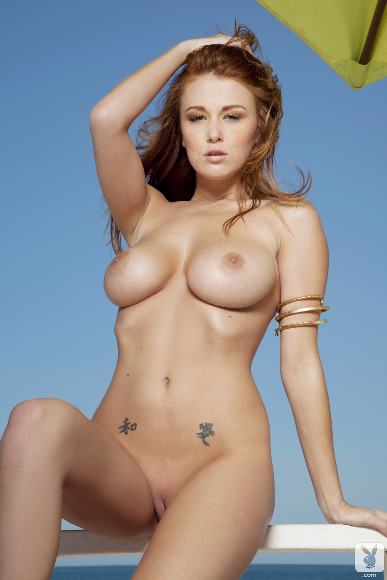 leanna-decker-bikini-boobs-redhead-seaside-playboy-25