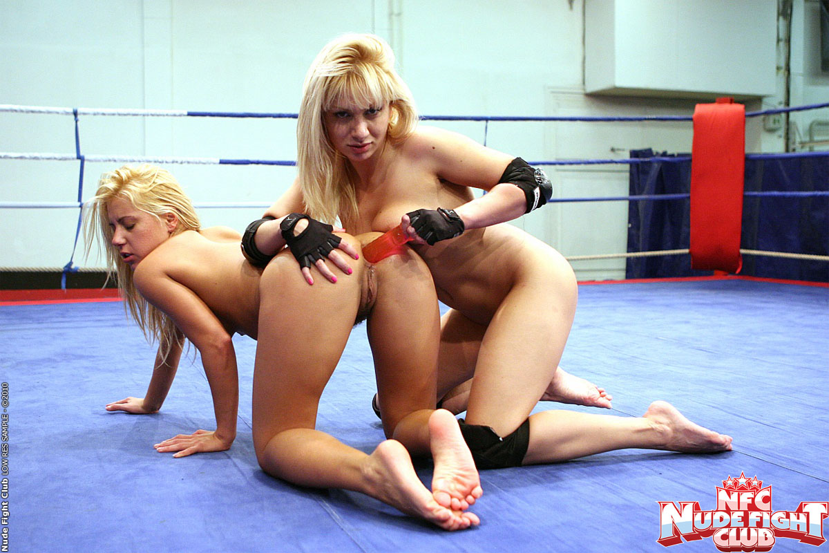Lesbian fight club in stockings amatuer 7