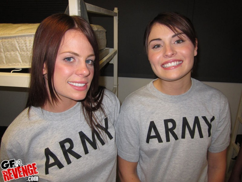 Pity, that Naked military lesbians are not