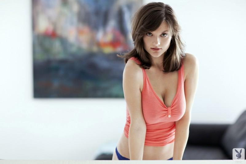 lisa-kate-nude-boobs-kitchen-playboy-02