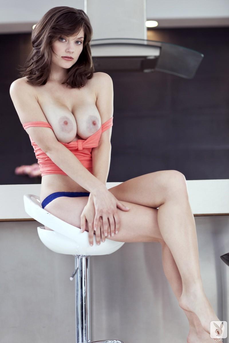 lisa-kate-nude-boobs-kitchen-playboy-09