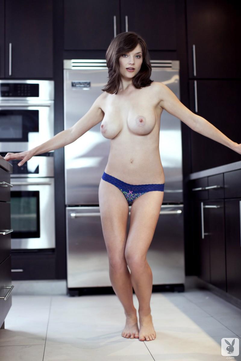 lisa-kate-nude-boobs-kitchen-playboy-11