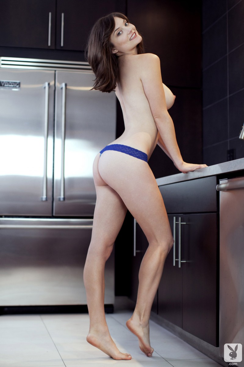 lisa-kate-nude-boobs-kitchen-playboy-12