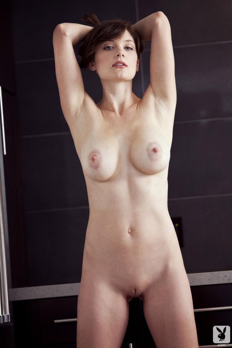 lisa-kate-nude-boobs-kitchen-playboy-17