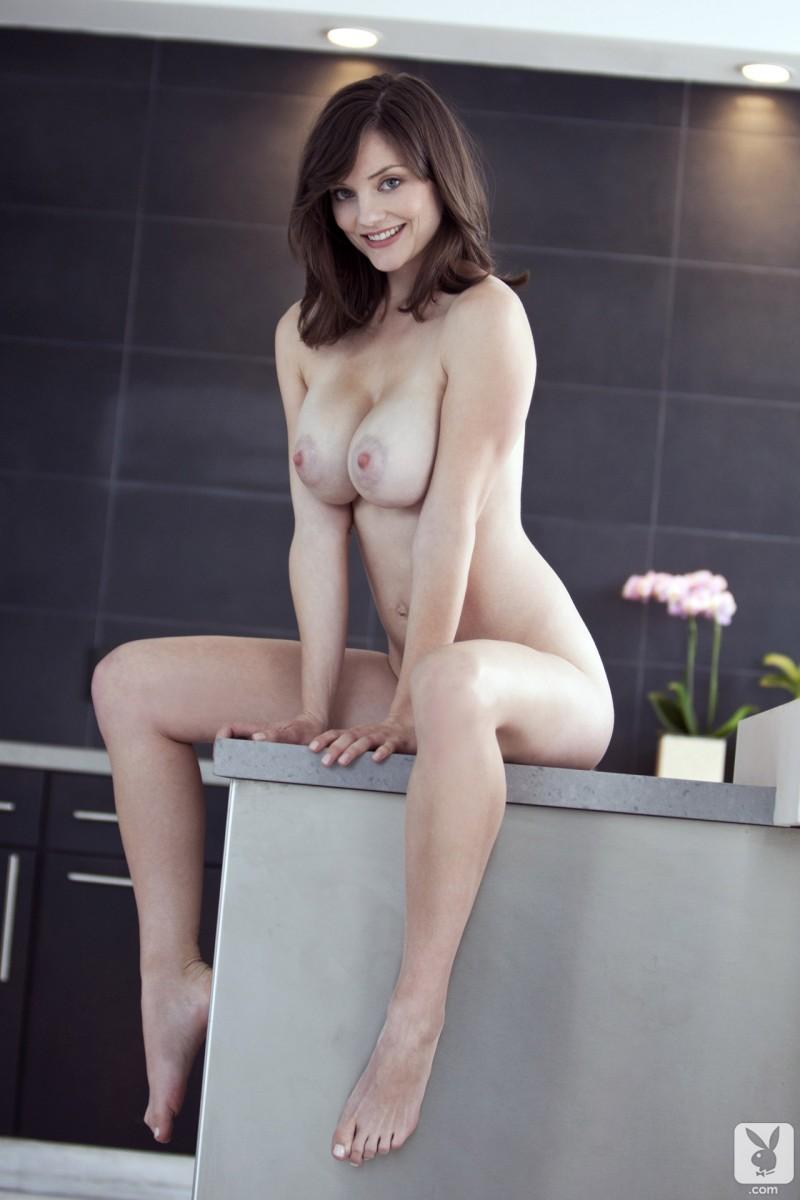 lisa-kate-nude-boobs-kitchen-playboy-18