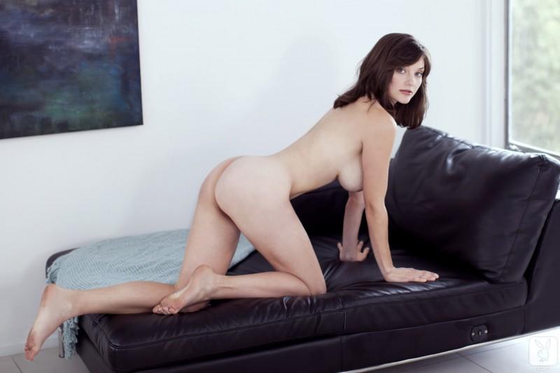 lisa-kate-nude-boobs-kitchen-playboy-23