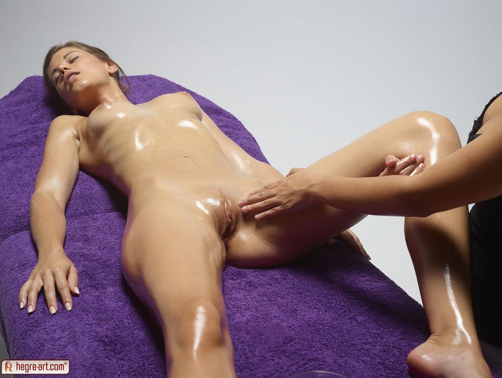 массаж голышом фото