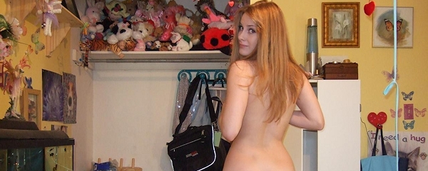 Long hair amateur teen beauty