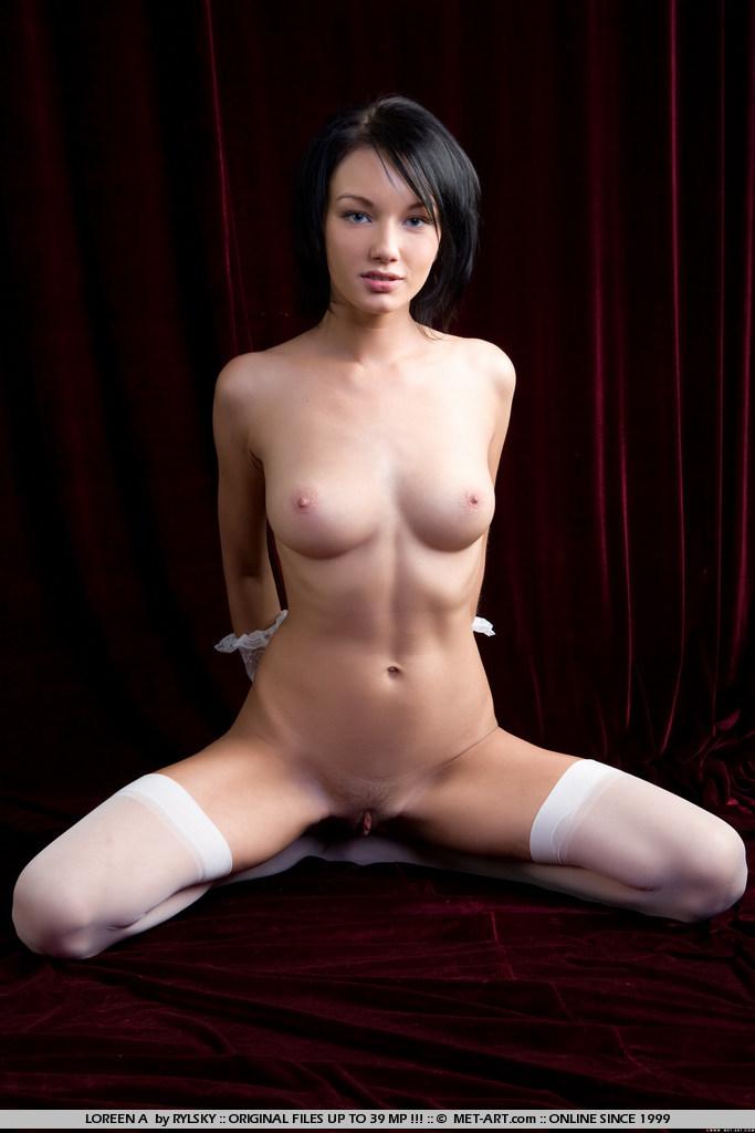 loreen-a-white-stockings-met-art-07