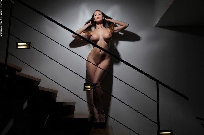 luciana-boobs-stairs-nude-photodromm-14