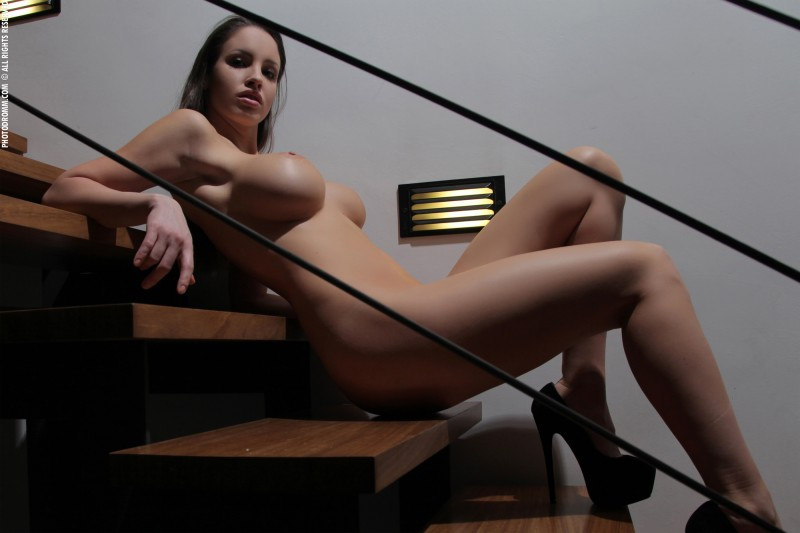 luciana-boobs-stairs-nude-photodromm-17
