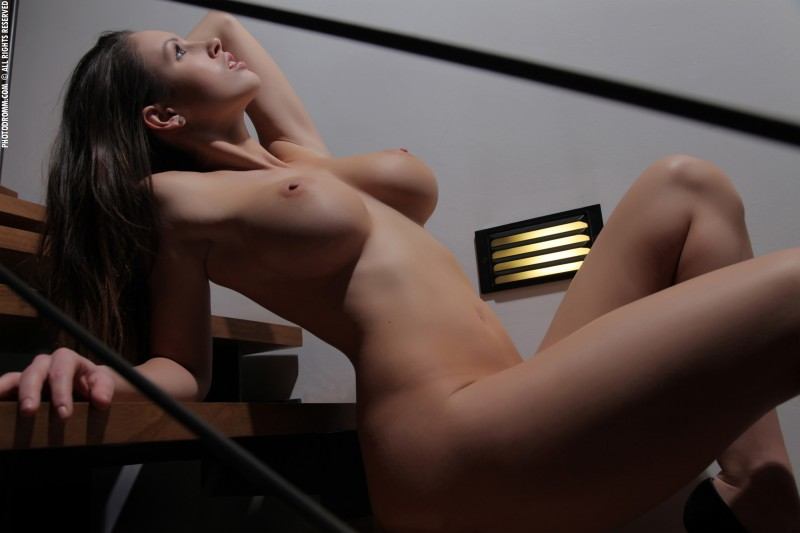 luciana-boobs-stairs-nude-photodromm-18