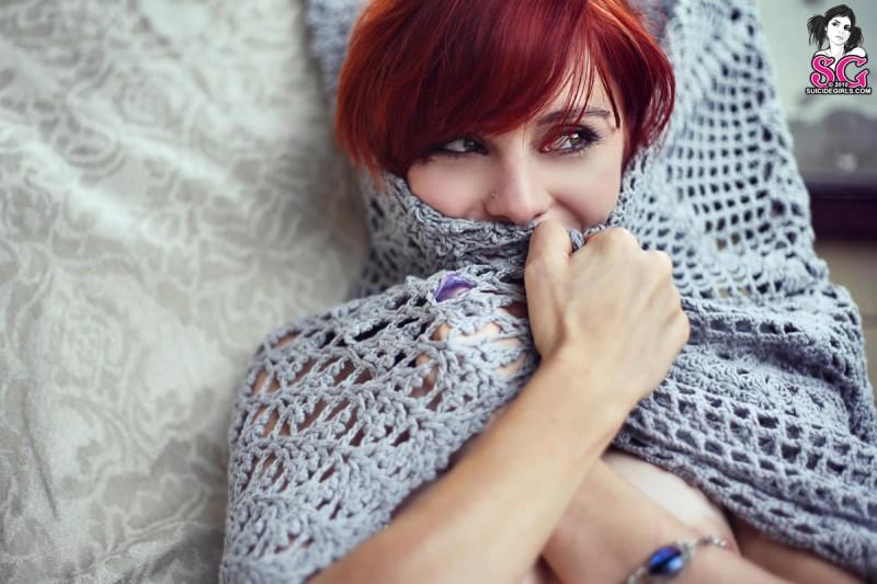 lumo-redhead-nude-blue-socks-suicide-girls-23