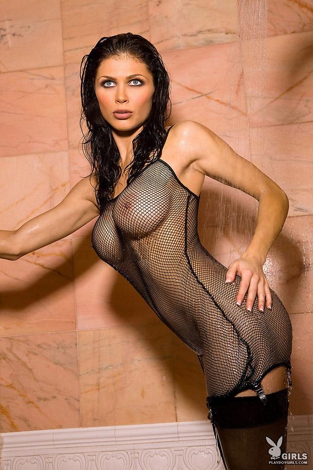 Lynda redwine playboy shower