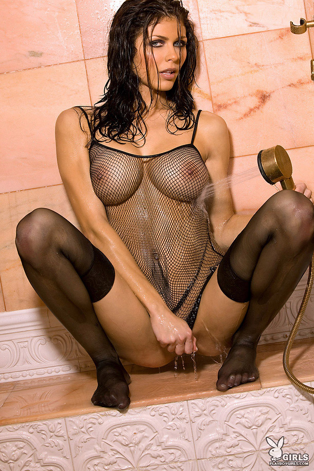 Hot black girl topless