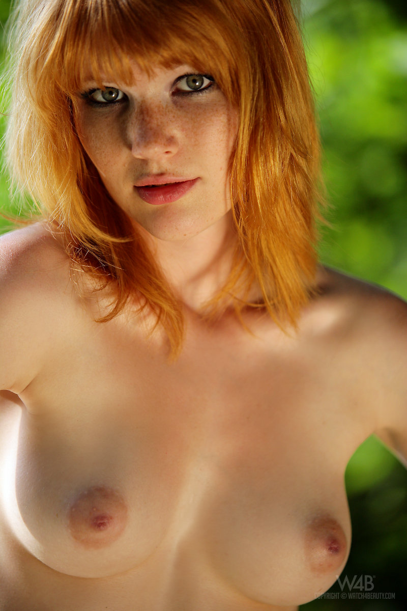 Beautiful nude red heads with freckles