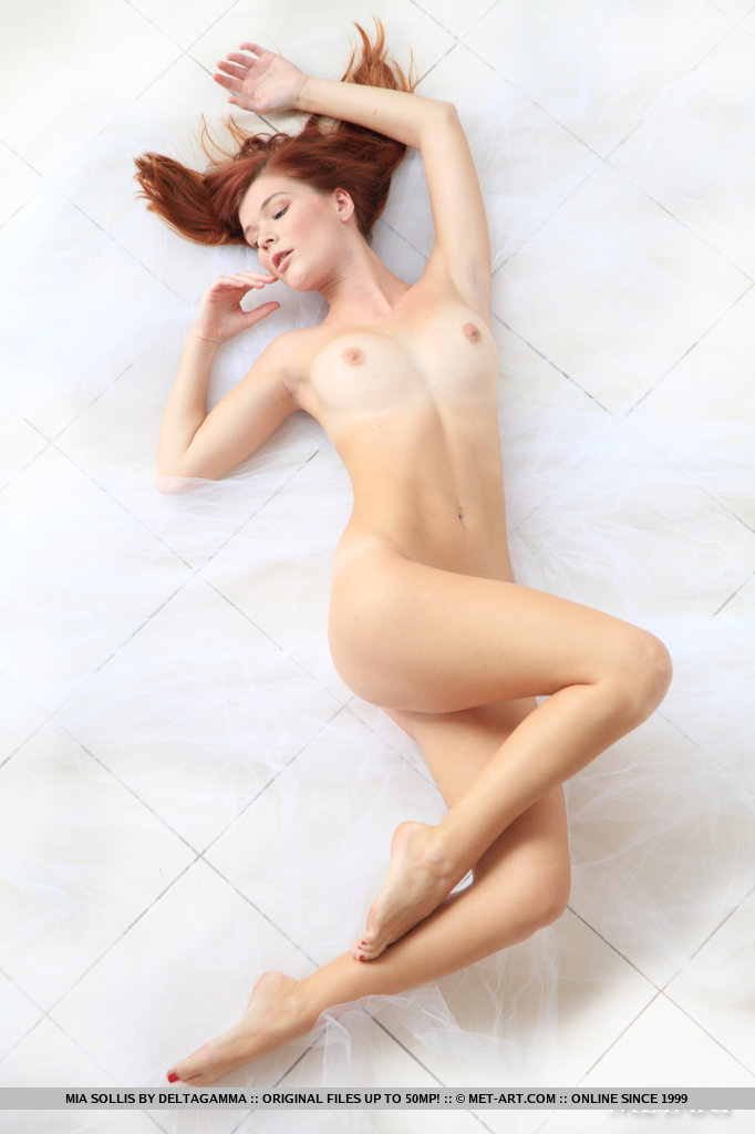 Lynette beautiful redhead nude remarkable