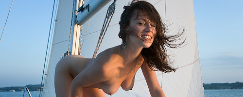 Mabelle on sailboat