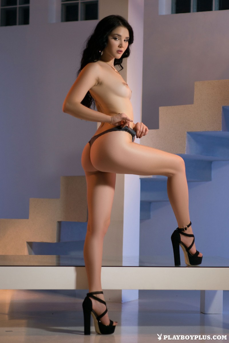 malena-pink-dress-high-heels-playboy-10