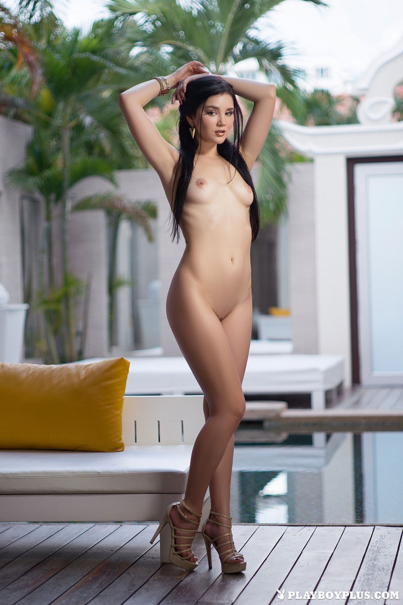 malena-poolside-nude-high-heels-playboy-18