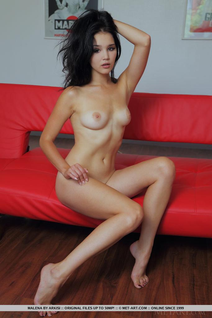 malena-nude-red-sofa-metart-15