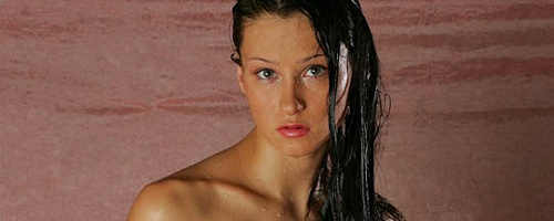 Maria – Wet photo shoot