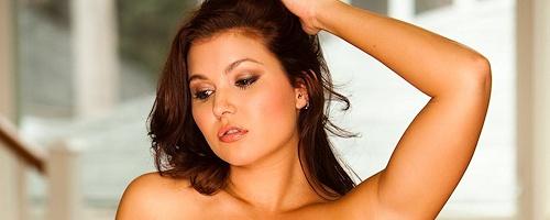 Mariela Henderson in lingerie