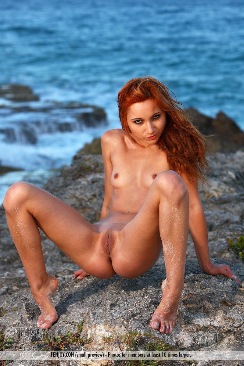 Nude redhead marlene