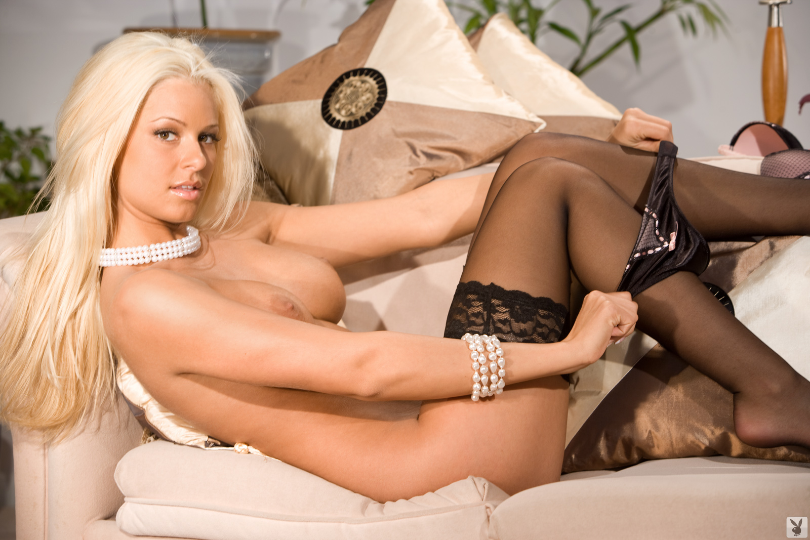 Maryse nude in playboy