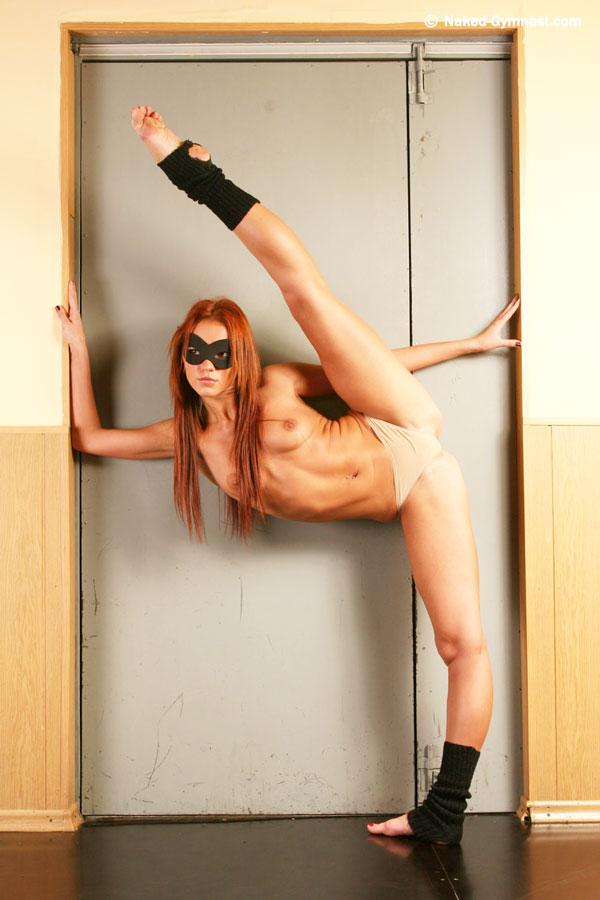 Nude gymnast girl - 3 part 2