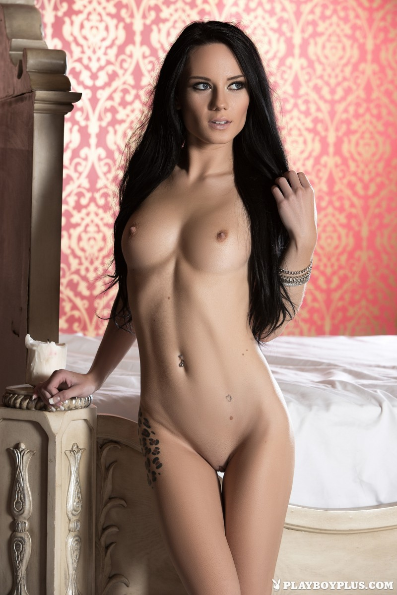 meghan-leopard-lingerie-bedroom-playboy-10