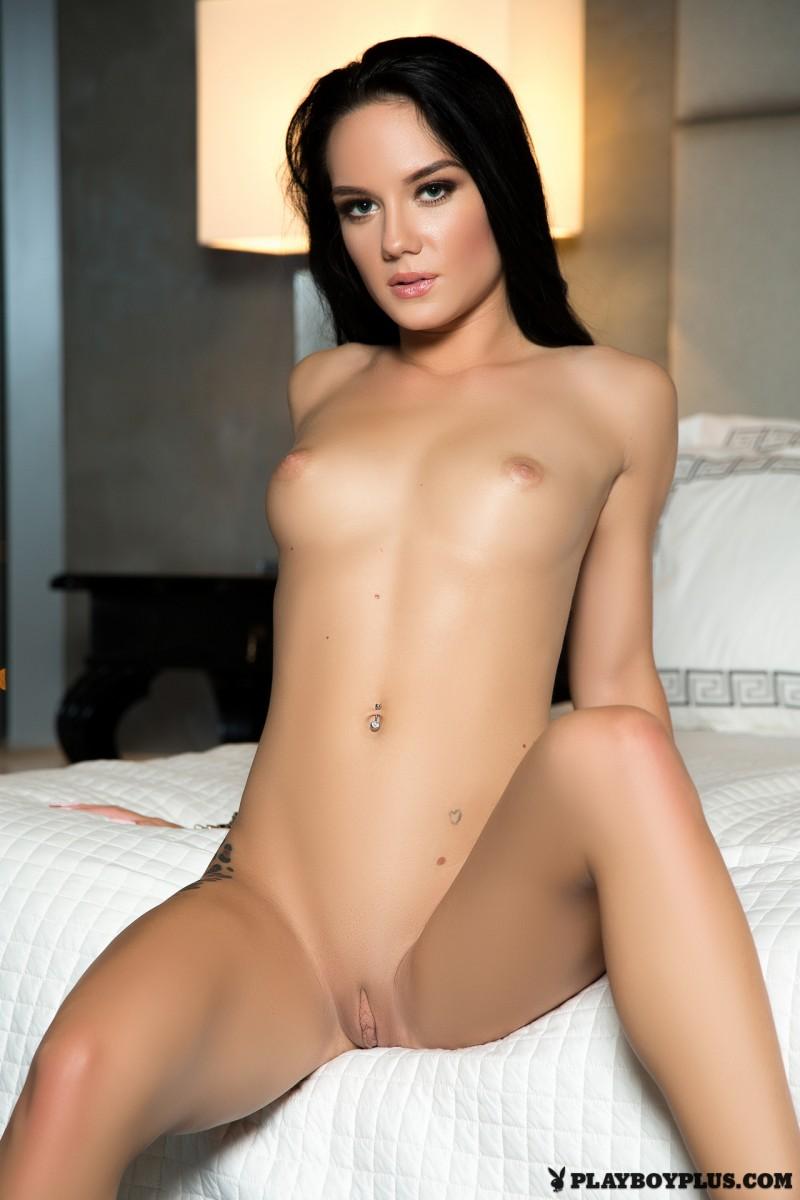 meghan-leopard-red-lingerie-bedroom-playboy-22