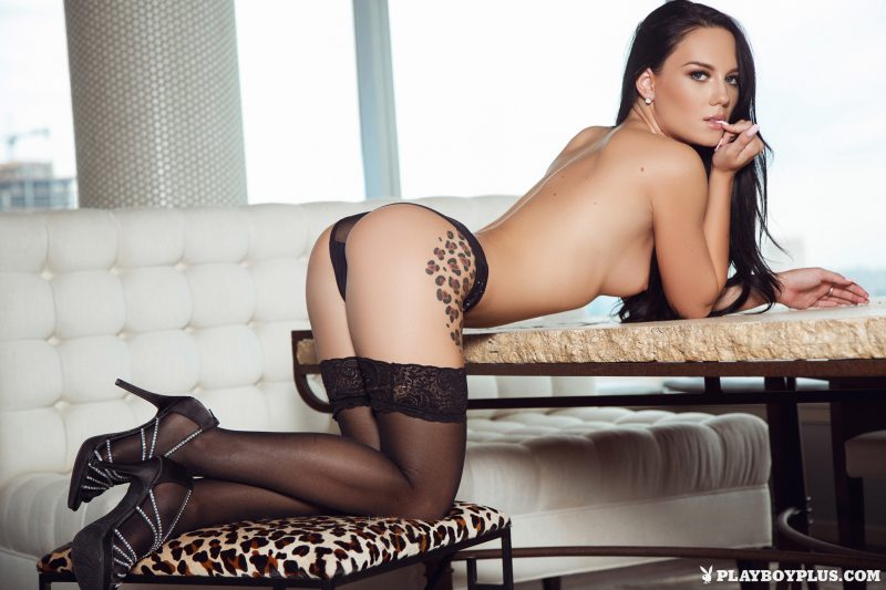 meghan-leopard-garters-stockings-naked-playboy-14