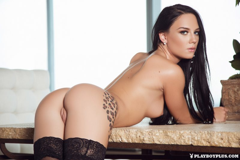 meghan-leopard-garters-stockings-naked-playboy-25
