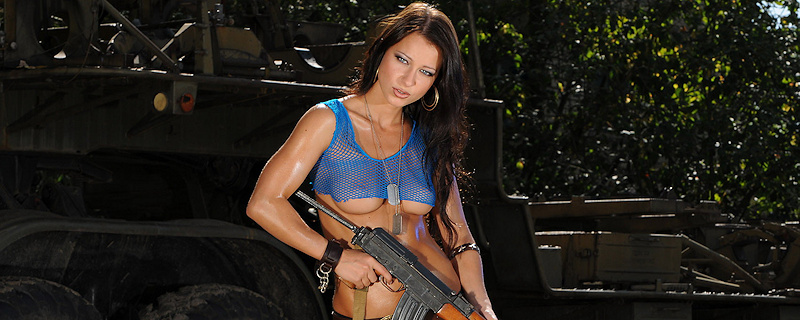 Melisa and AK-47