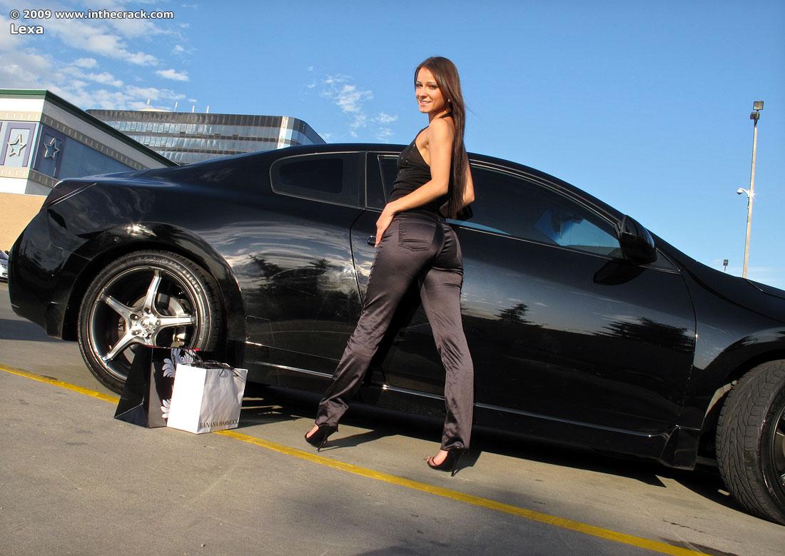 Idea inthecrack lexa nude in car does not