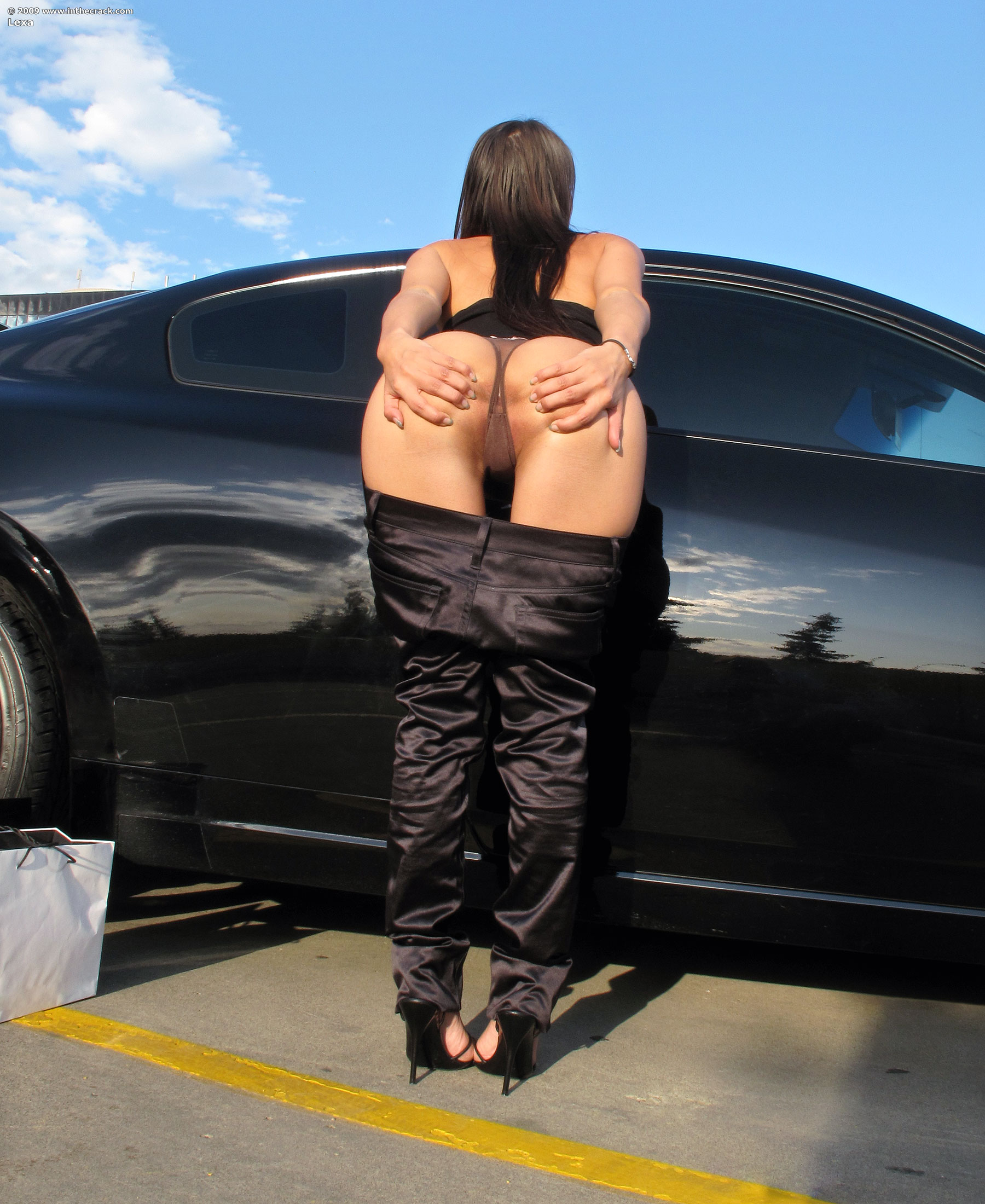 Necessary words... inthecrack lexa nude in car