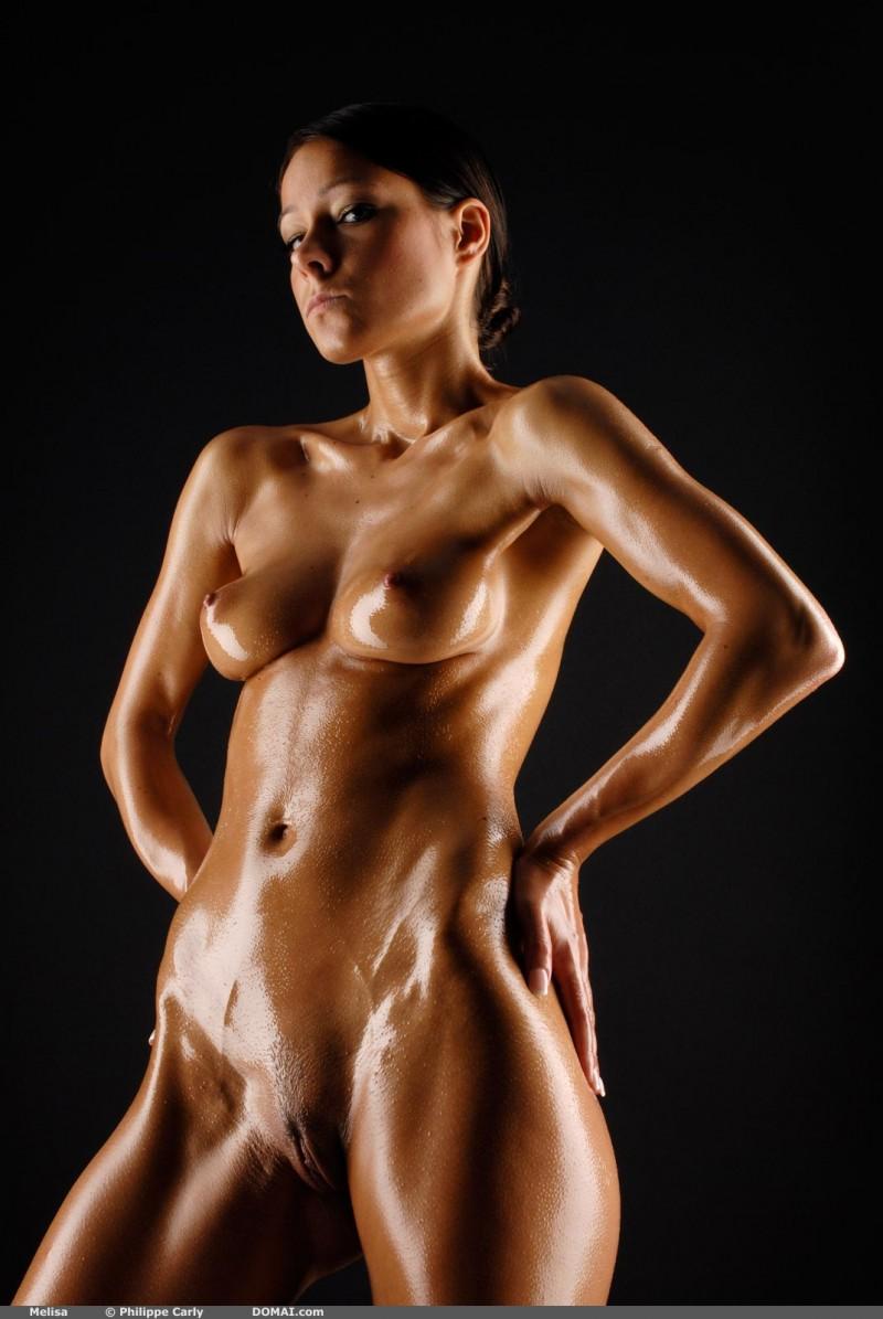 Rather good Sexy oily body nude sex