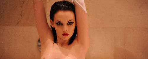 Mellisa Clarke in bath