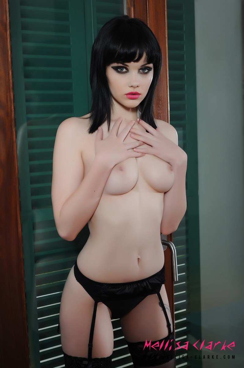 mellisa-clarke-garter-belt-black-stockings-brunette-young-09