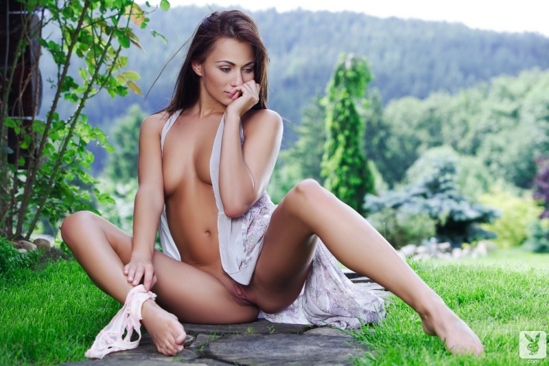 michaela-isizzu-green-grass-garden-nude-playboy-13