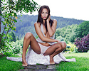 michaela-isizzu-green-grass-garden-nude-playboy