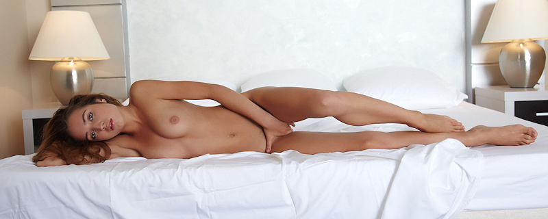 Milana G in bedroom