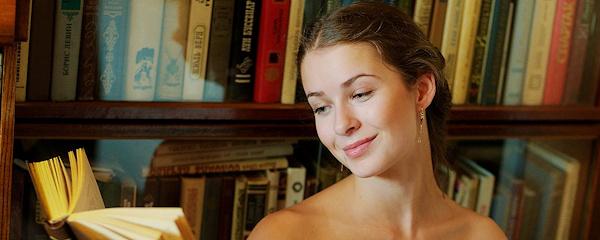 Milana – Naked reading