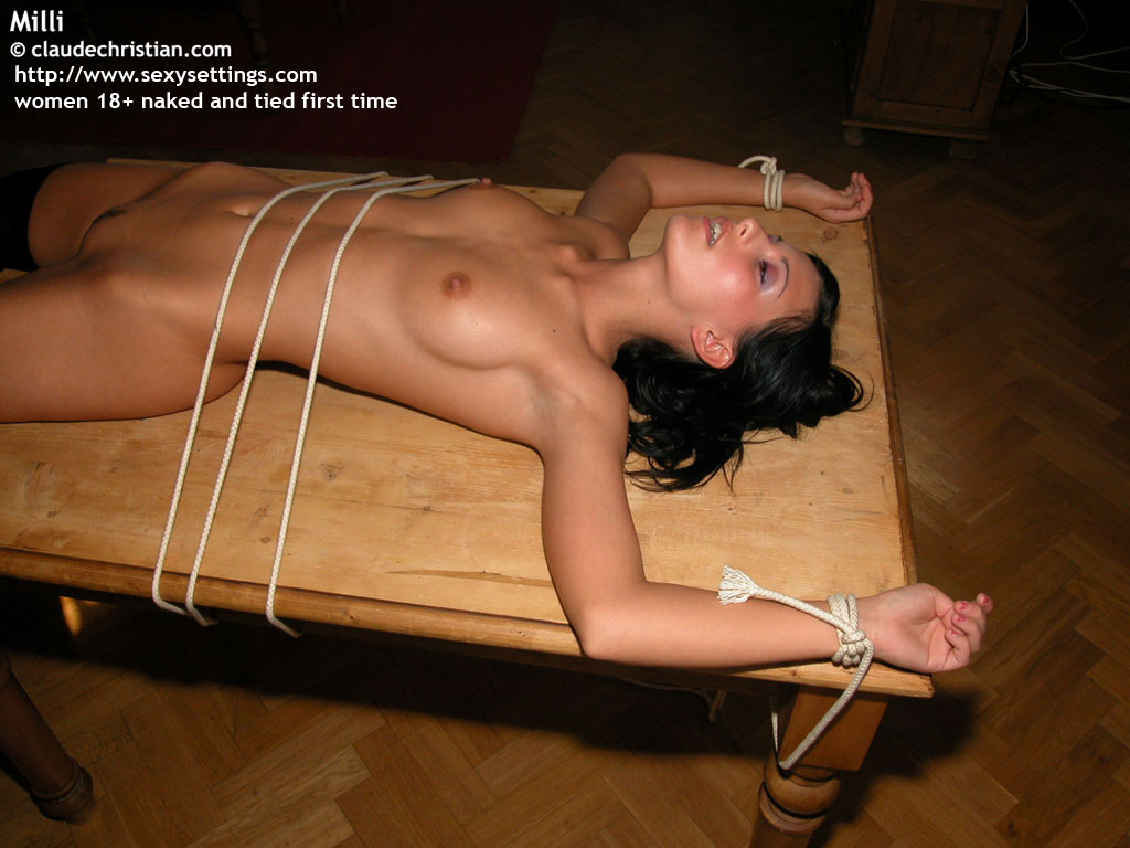 Was nude girl tied and spread legs idea You